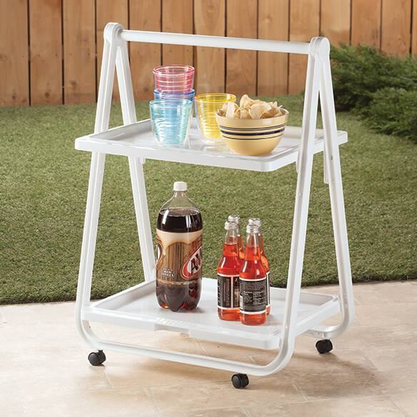 Rolling Trolley Table - View 2