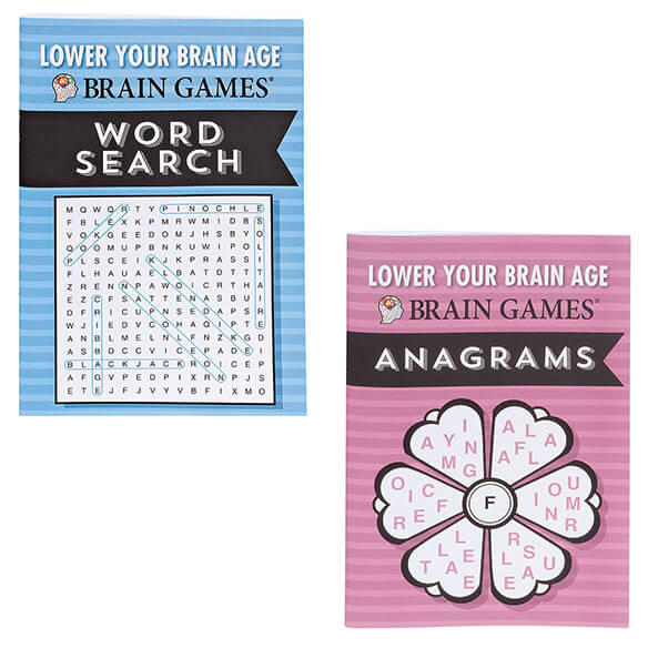 Brain Games® Lower Your Brain Age Books, Set of 8 - View 3