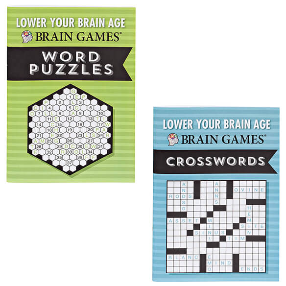 Brain Games® Lower Your Brain Age Books, Set of 8 - View 5