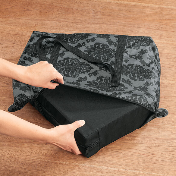 Portable Cushion in a Tote - View 2