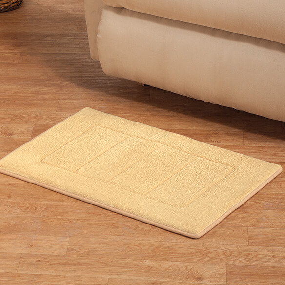 Memory Foam Straight Border Rug - View 3