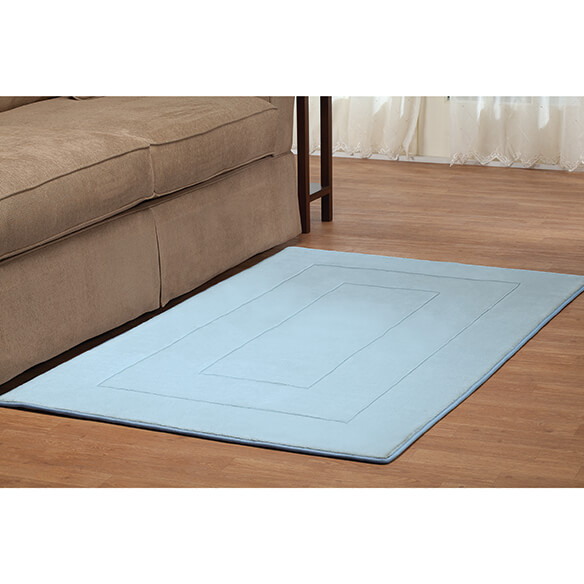 Memory Foam Straight Border Rug - View 5