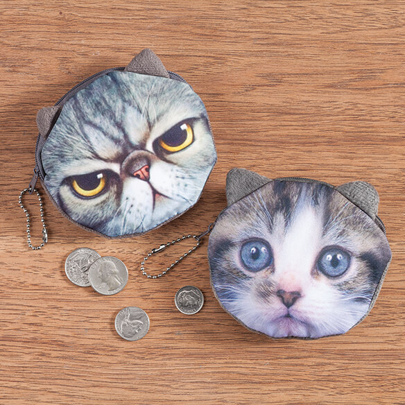 Cat Coin Purses - View 3