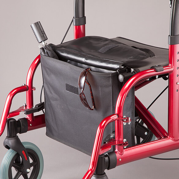 2-in-1 Rollator and Transport Chair - View 4