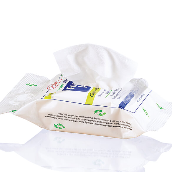 Tea Tree Ultimates® Foot Wipes - View 2