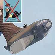 Cold Weather Safety - Shoe Ice Cleats