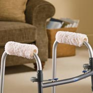 Walkers & Rollators - Fleece Walker Hand Grips - Set Of 2