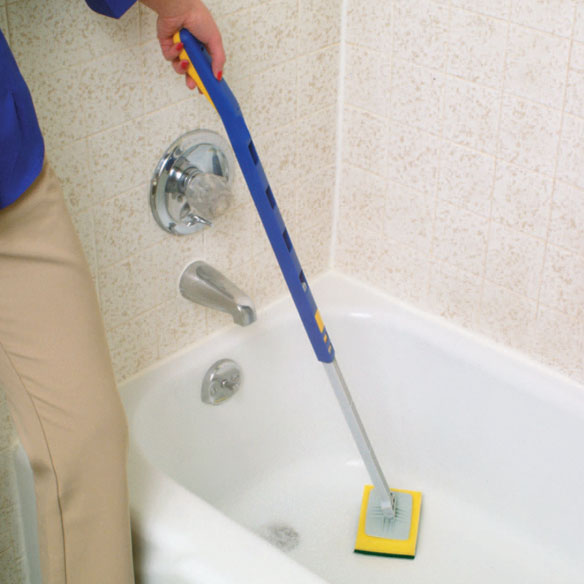 Telescopic Bathtub Scrubber - View 1