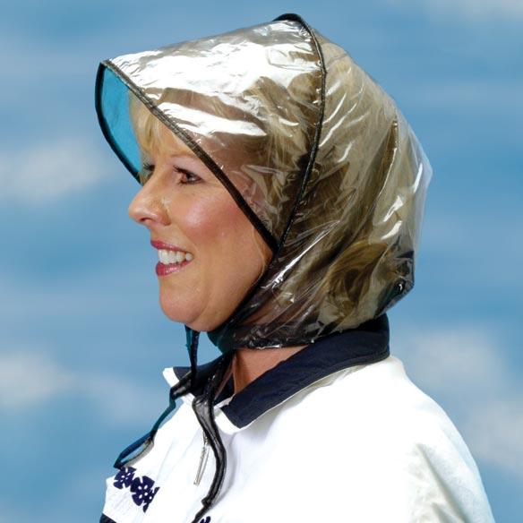 Plastic Rain Bonnet - Rain Bonnets Women - Easy Comforts 6f1d8966423