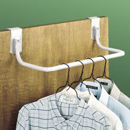 Top Rated - Over The Door Closet Rod