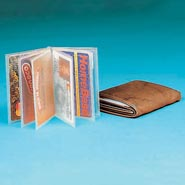 Values under $4.99 - Plastic Wallet Inserts