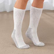 Hosiery - Women's Diabetic Socks - 2 Pair