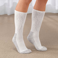 Diabetic Hosiery - Men's Diabetic Socks - 2 Pair