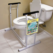 Bathroom Safety - Deluxe Toilet Safety Support                    XL
