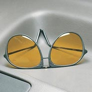 Auto & Travel - Aviator Night Driving Glasses