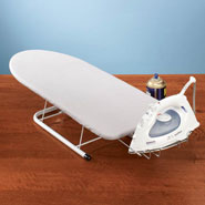 Spring Cleaning - Table Top Ironing Board
