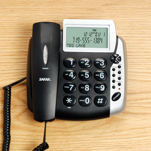 Talking Caller ID Corded Phone