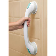 Bathroom - Suction Cup Grab Bar