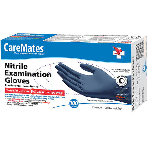 Nitrile Exam Gloves - Box of 100