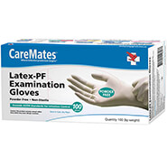 Spring Cleaning - CareMates® Latex Gloves, Set of 100