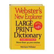 Office & Leisure - Webster's® Large Print Dictionary