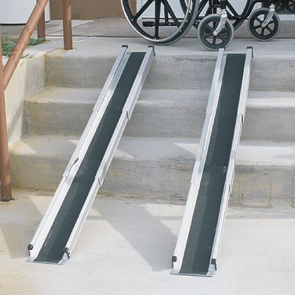 Telescoping Wheelchair Ramp - View 1