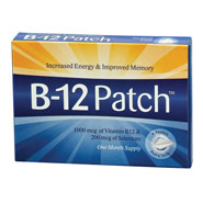 Lack of Energy - B-12 Patches