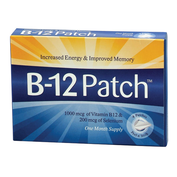 B-12 Patches - View 1