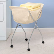 Home Necessities - Laundry Cart With Wheels
