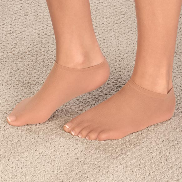 Cotton Liner Socks With Spandex - 3 Pair