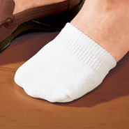 Footwear - Toe Half Socks