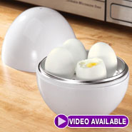 Microwave Cooking - Microwave Egg Boiler