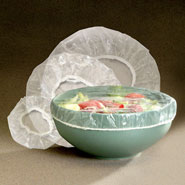 Kitchen Helpers - Elastic Bowl Covers - Set Of 50