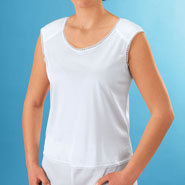 Undergarments - Camisole With Shoulder Pads