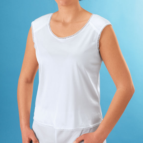 Camisole With Shoulder Pads
