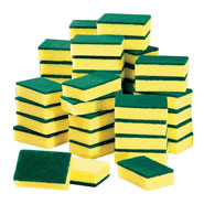 Spring Cleaning - Cleaning Sponges - Set of 50