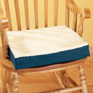 Cushions & Chair Pads - Fleecy Gel Seat Cushion