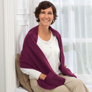 Fleece Apparel & Slippers - Polar Fleece Shawl