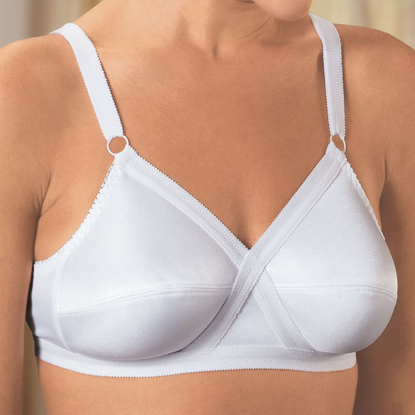 Cross And Shape Support Bra - View 1