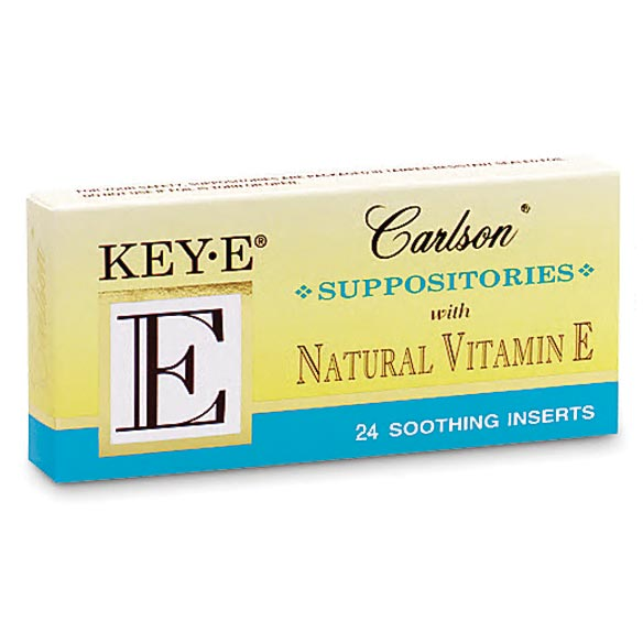 Vitamin E Suppositories For Women