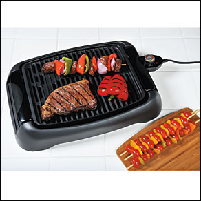 "13"" Table Top Electric Grill By Home-Style Kitchen™"