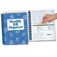 Values under $4.99 - Monthly Bill Organizer