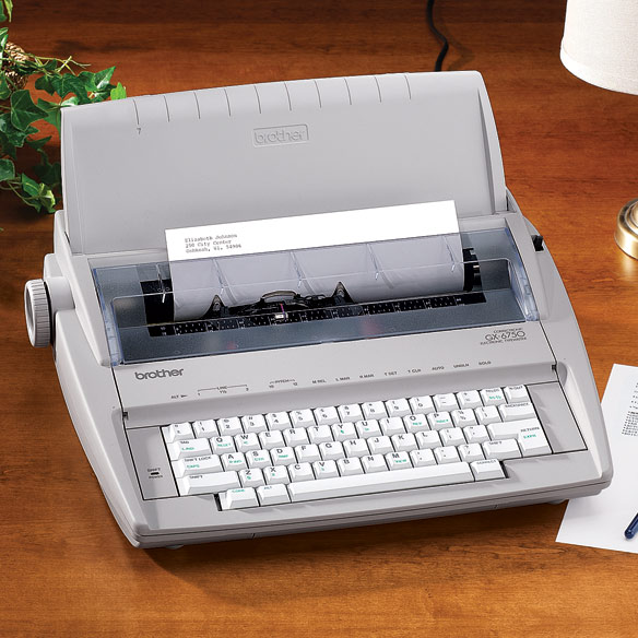 Brother™ Electronic Typewriter