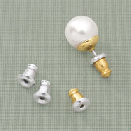 Clearance - Bullet Earring Backs - 6 Pairs