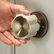 Values under $4.99 - Rubber Door Knob Cover