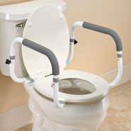 Bathroom Safety - Toilet Support Rail