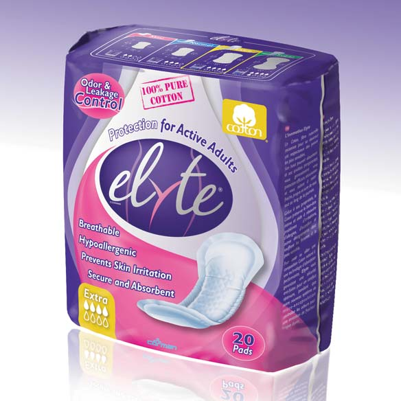 Elyte Incontinence Pads Extra