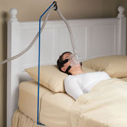 Bedroom - CPAP Hose Holder