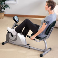 Exercise & Fitness - Stamina® Magnetic Recumbent 1350 Bike