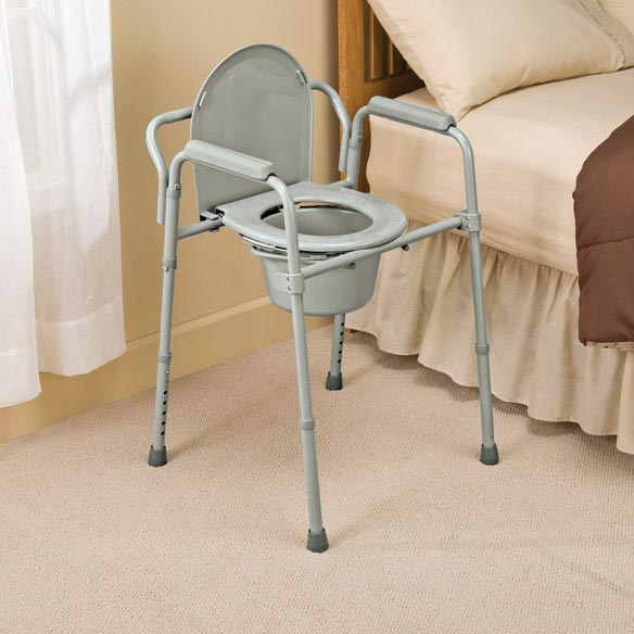 Bariatric Folding Commode - View 1